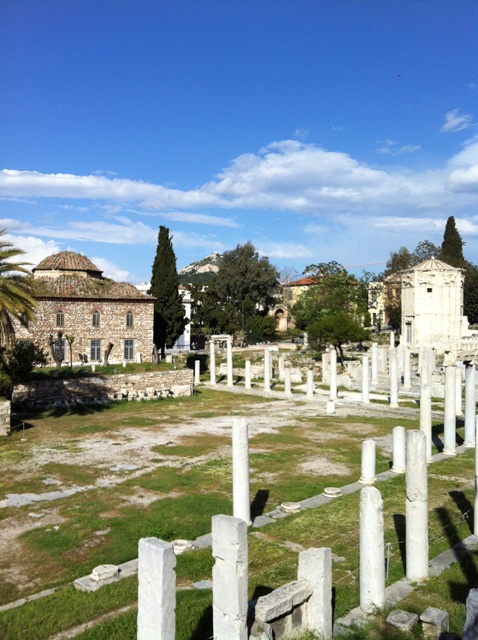 Romerske agora, Vindenes tårn