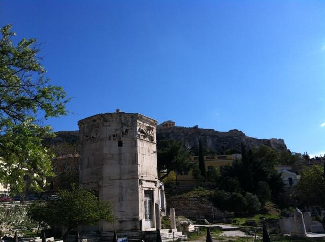 Vindenes tårn, Propyleene