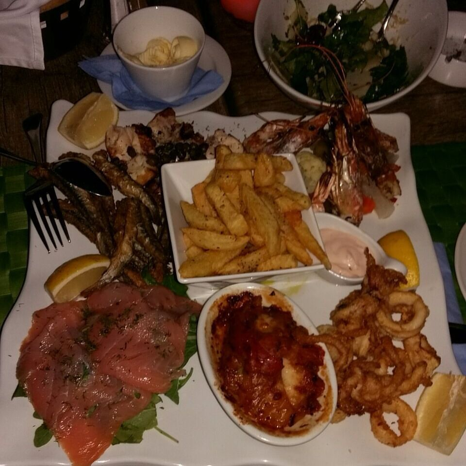 Okeanis, sjømat-tallerken 29.08.16
